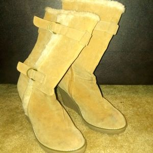Charlotte Russe boots size 10